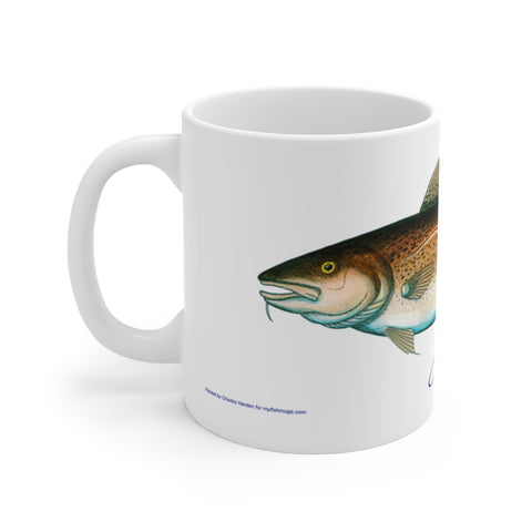Codfish Fisherman's Coffee Mug