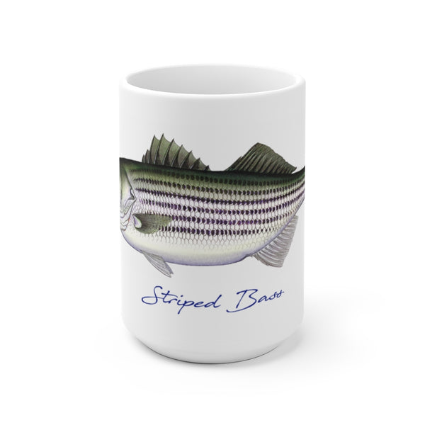 Striped Bass Fisherman's Coffee Mug