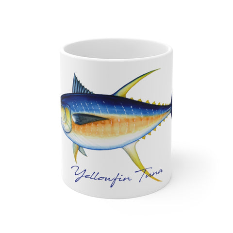 Yellowfin Tuna Fisherman's Coffee Mug