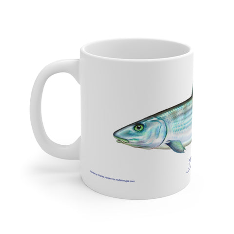 Bonefish Fisherman's Coffee Mug
