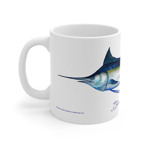 Blue Marlin Fisherman's Coffee Mug