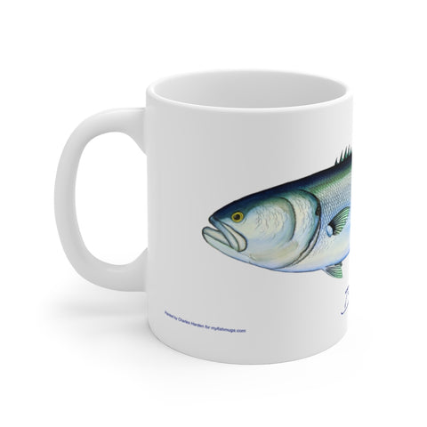 Bluefish Fisherman's Coffee Mug