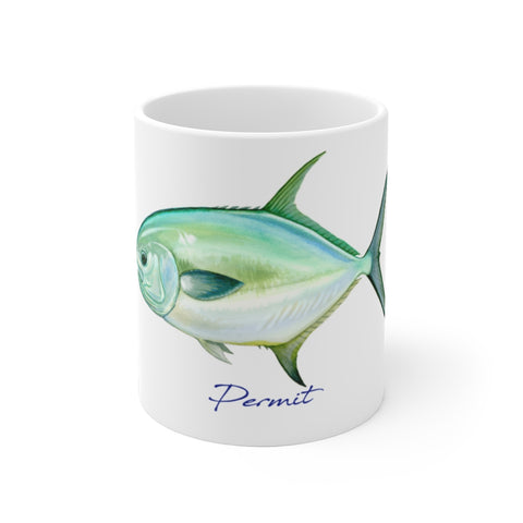Permit Fisherman's Coffee Mug