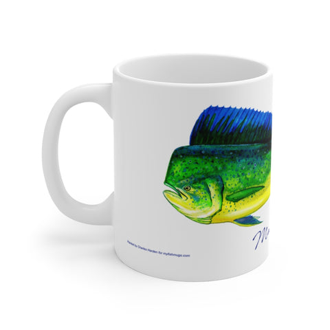 Mahi Mahi Fisherman's Coffee Mug