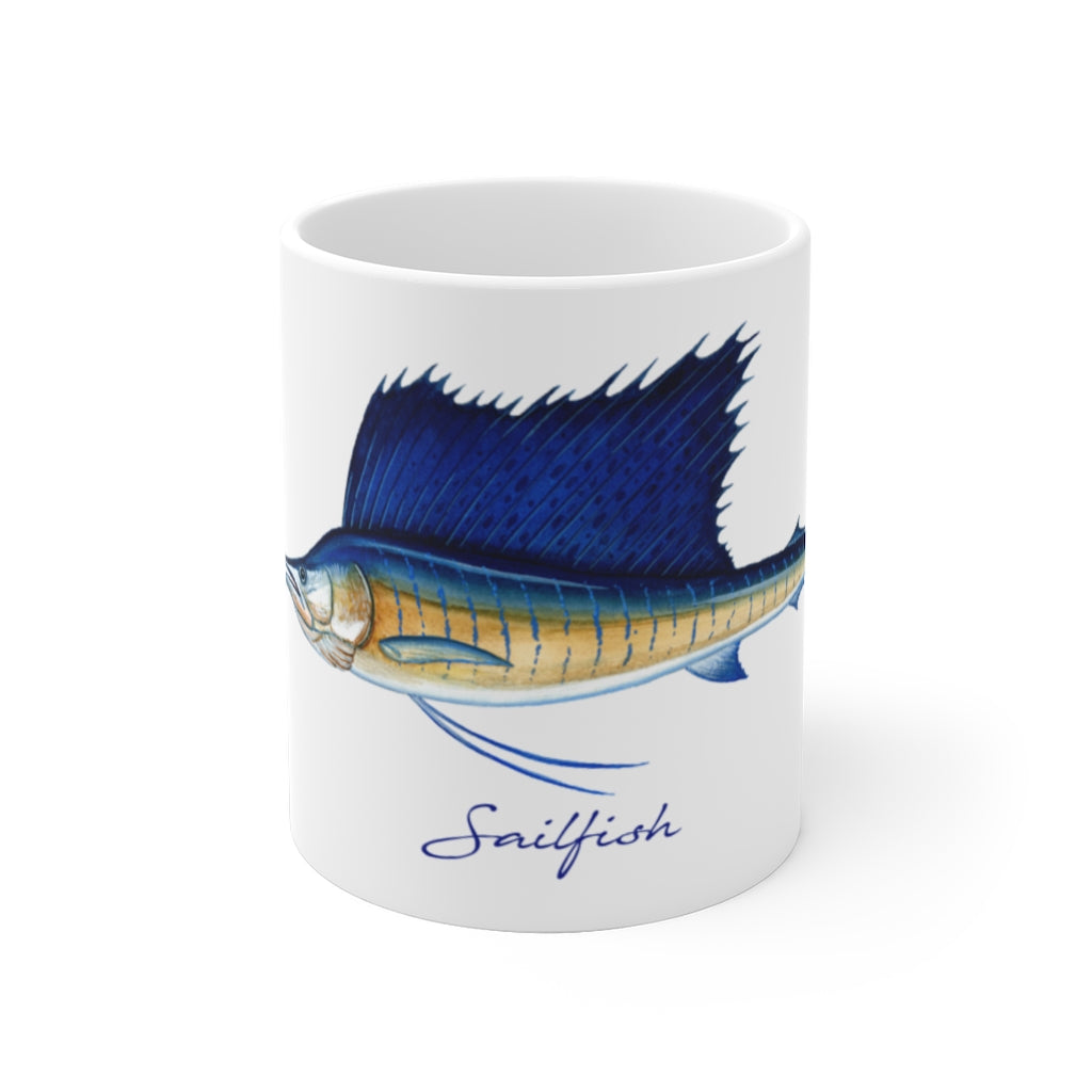 Sailfish Fisherman's Coffee Mug