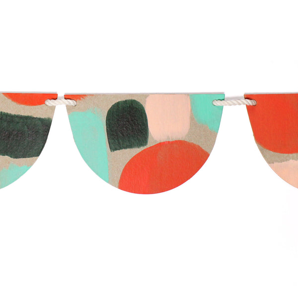 Bunting Set Holiday Dot