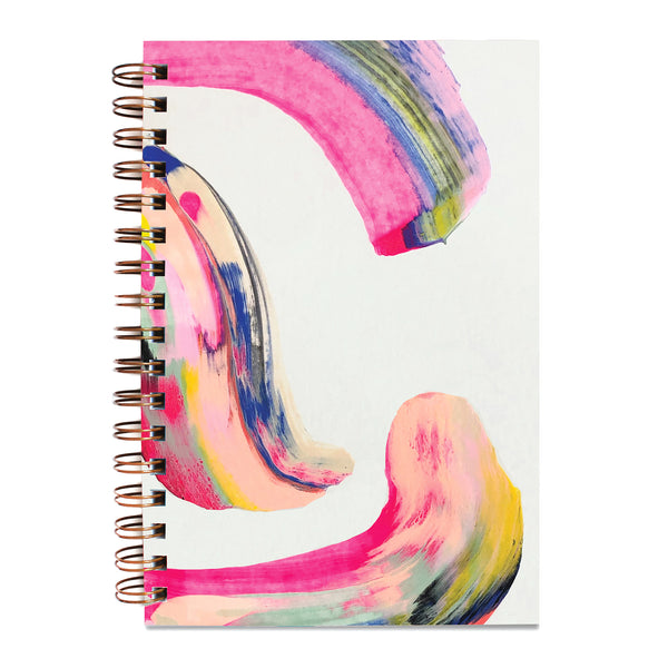 Painted Notebook Candy Swirl