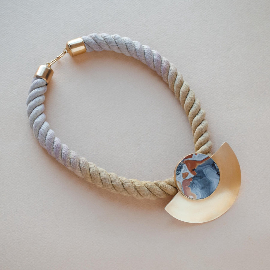 Poppy Rope Necklace