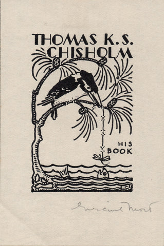 Bookplate by Eirene Mort