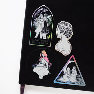 Holographic stickers - Star Catchers