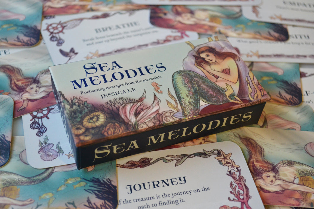 Sea Melodies Mini Inspiration Cards