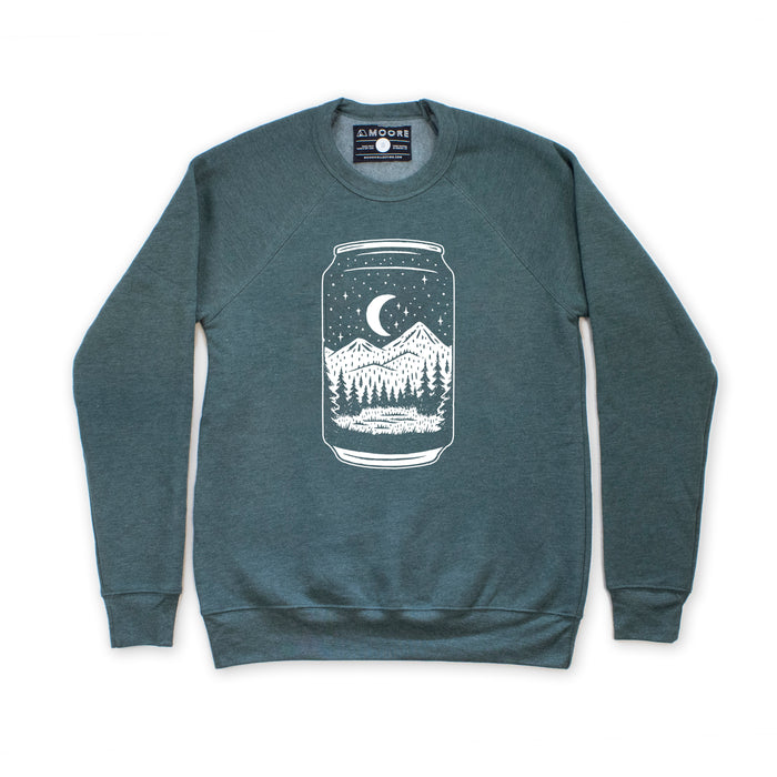 Beer Can Crewneck