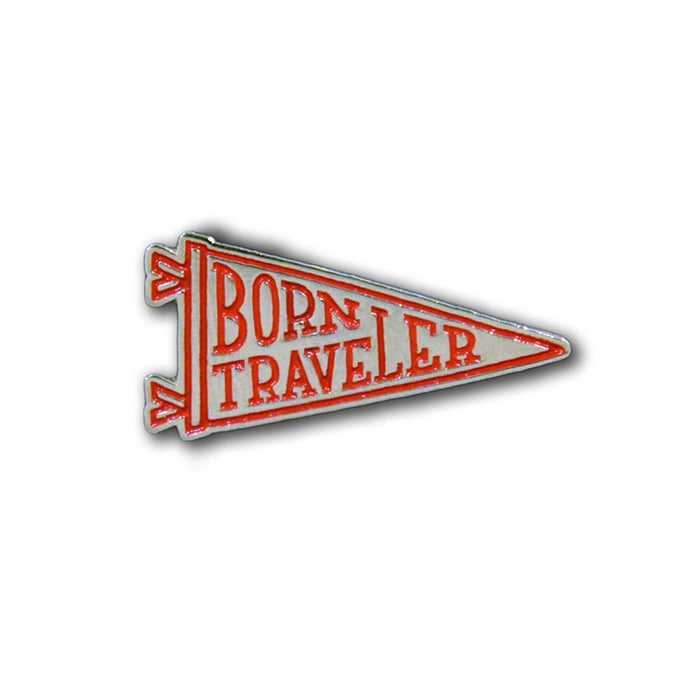 Born Traveler Lapel Pin