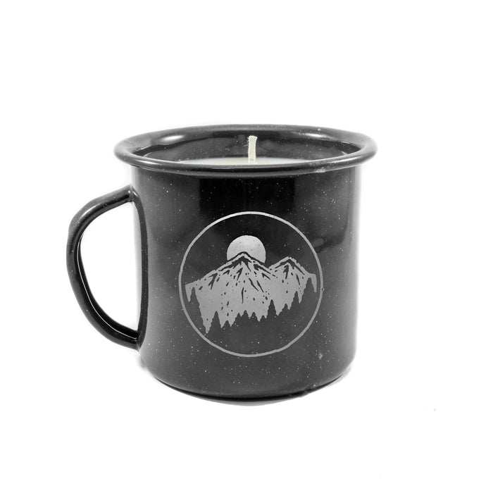 Night Sky Enamel Cup Candle