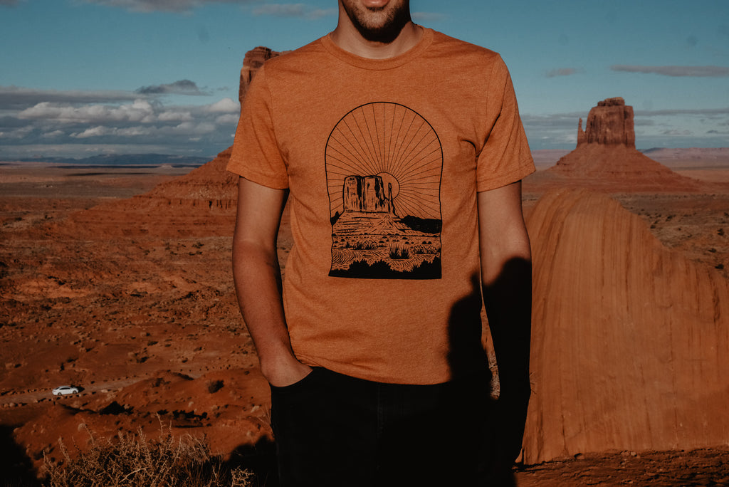 Monument Sunset Tee
