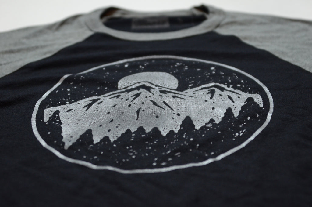 Night Sky Baseball Tee
