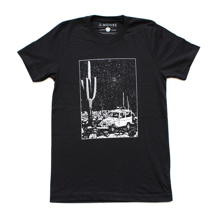 Desert Cruiser Tee-Black