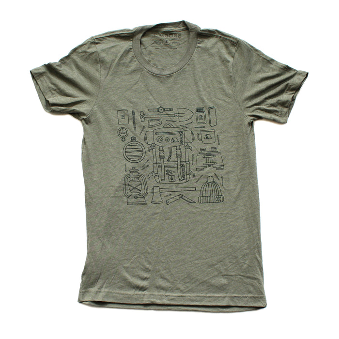 Forestry Gear Tee-Green