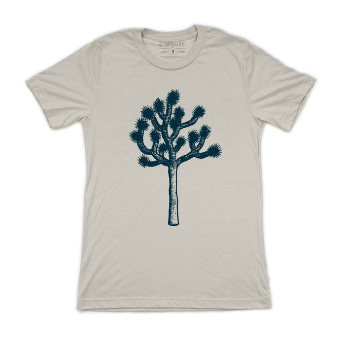 Joshua Tree Tee - Cement