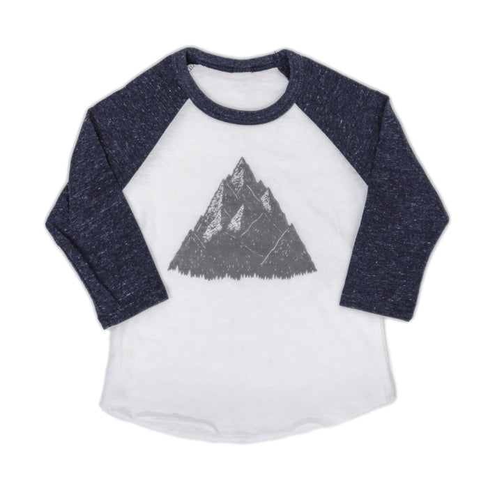 Kids High Peak Baseball Tee