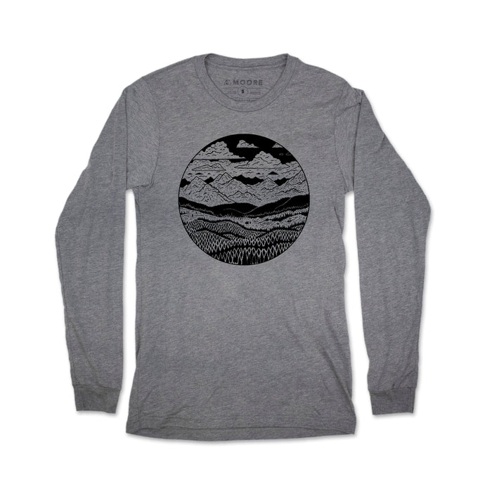 Mountain Range Long Sleeve Tee
