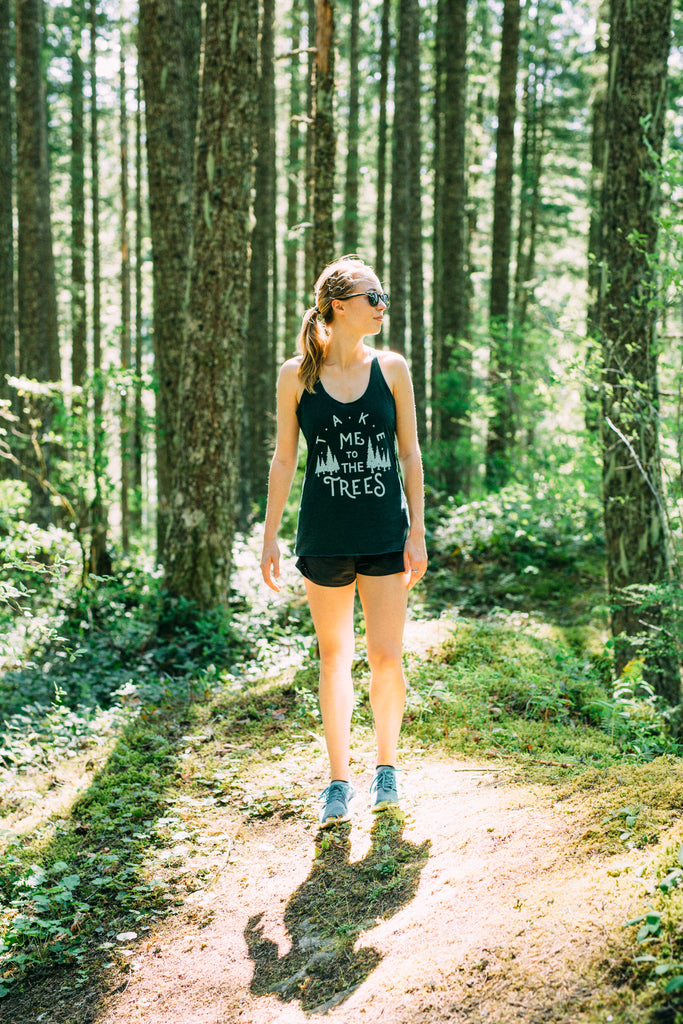 Ladies Trees Tank
