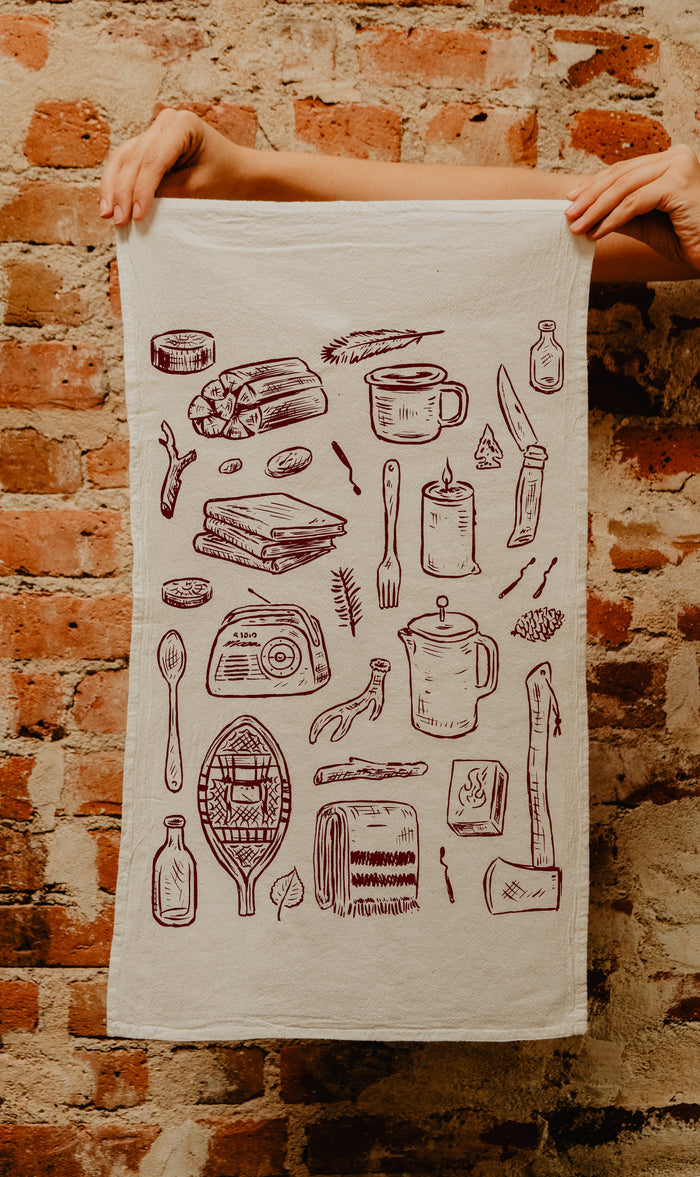 The Home Tea Towel