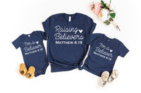 Raising Believers mommy and me screen print transfers ships week of 05/04