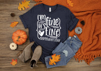 I'm fine, it's fine screen print Transfer WHITE WRITING
