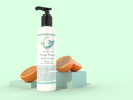 Orange Blossom Body Lotion - Mermaid Cove Co.