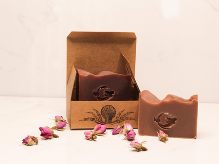 Chocolate & Wine Soap Bundle