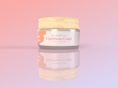 Caribbean Coral Hydrating Facial Cream - Mermaid Cove Co.