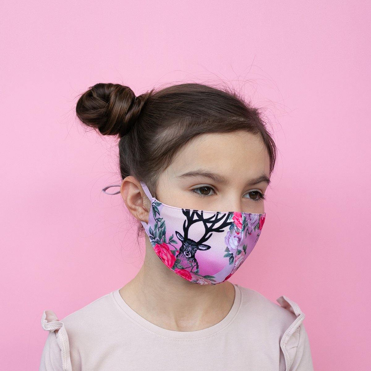 KIDS adjustable face mask Dream garden - ZIB*