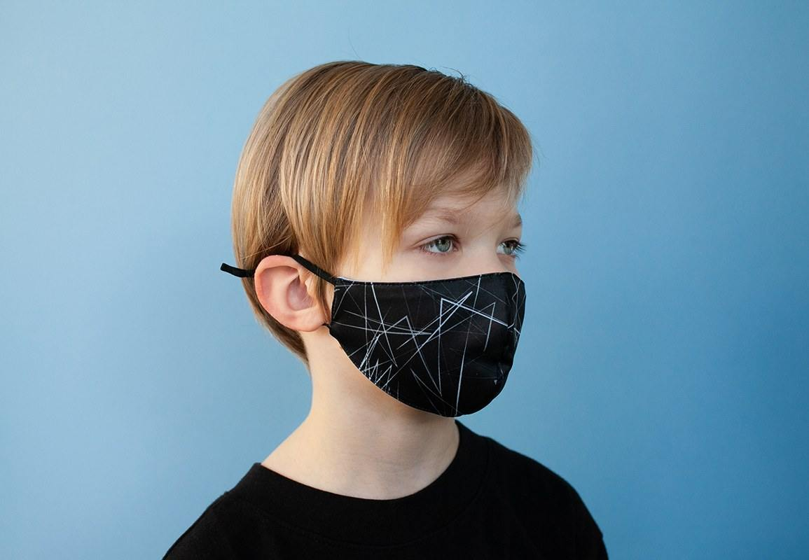 KIDS adjustable Face mask Mountains - ZIB*