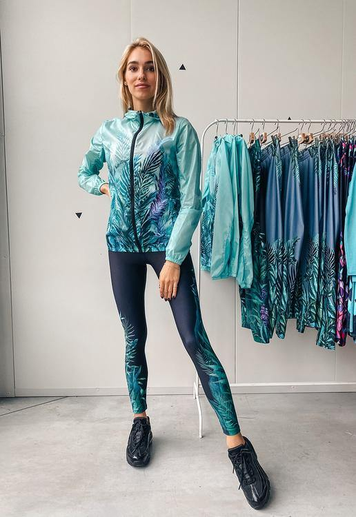 Printed leggings for women Discovery - ZIB*