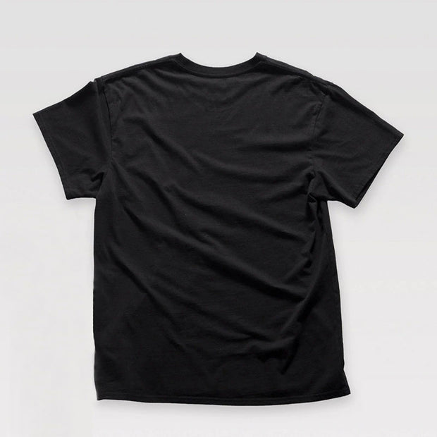 T-shirt Born to Lift noir de dos