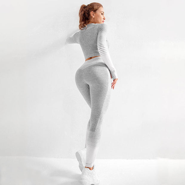 New Horizon Leggings gray coupe ajusté au corps