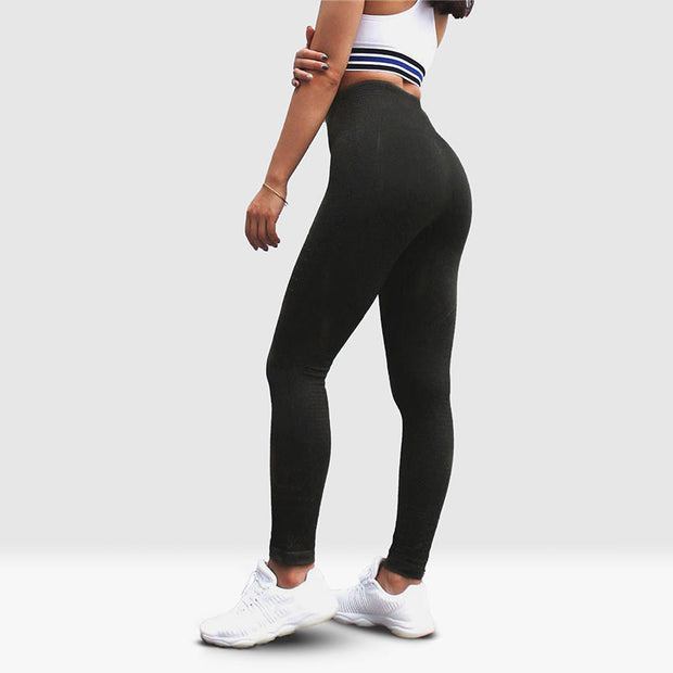 Active Seamless leggings Obsidian de Vryheid de côté