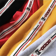Sport original sweat-shirt red manches brodées
