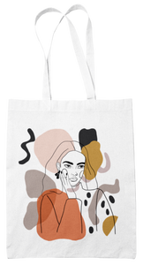 GIRL NO 3 tote bag