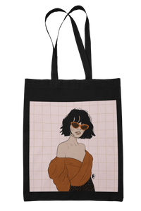 """FREEFALLING"" tote bag"