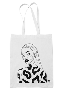 """THE MOON QUEEN"" tote bag"
