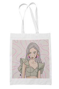 """FULL MOON MOOD"" tote bag"
