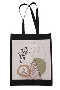 """BUBBLY"" tote bag"