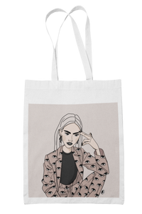 """STAY RAD"" tote bag"