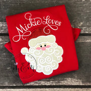 Santa Christmas Shirts | Christmas Shirts | Funny Christmas Shirt | Naughty List | Nice List | Santa Shirt | Funny Christmas - Mickie and Mum Personalized Baby Outfits