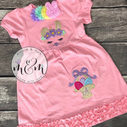 Spring Dress | Summer Dress | Dress for Easter | Easter Outfit | Easter Bunny Dress |  Easter Dress Toddler | Easter Dress | Monogrammed - Mickie and Mum Personalized Baby Outfits