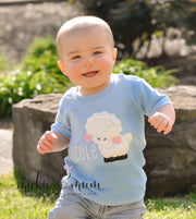 Easter Shirt for Boys - Easter Lamb Shirt - Mickie and Mum Personalized Baby Outfits