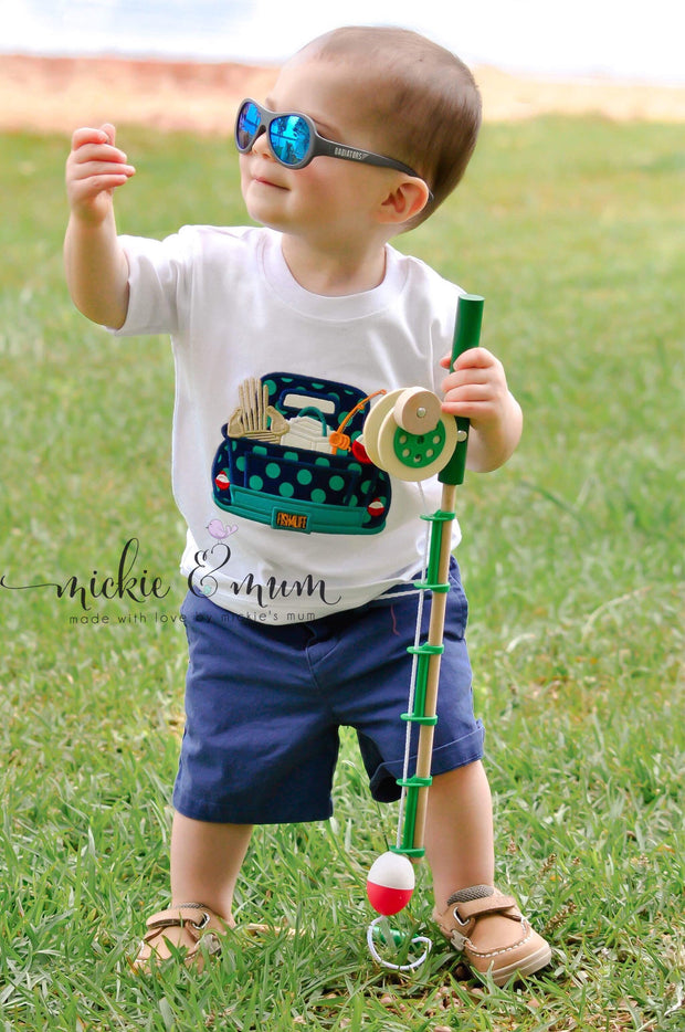 Summer Shirt | 4th of July Shirt | Lake Shirt | 4th of July Outfit | Lake House | Fishing Shirt | Fishing Buddy | Fishing - Mickie and Mum Personalized Baby Outfits
