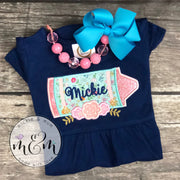 Back to School Shirt | Return to School | Welcome Back | First Day of School | Custom Back to School First Day of School Shirt - Mickie and Mum Personalized Baby Outfits